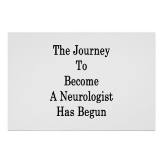 Le voyage pour aller bien à un neurologue a poster