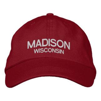 Le Wisconsin - casquette réglable personnalisé par
