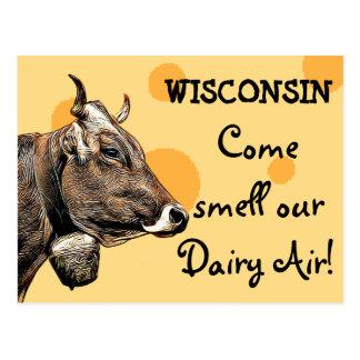 Le Wisconsin viennent odeur notre carte postale
