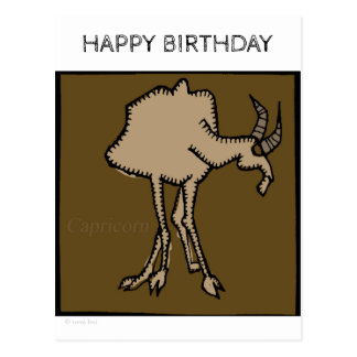 Le zodiaque de joyeux anniversaire signe la carte