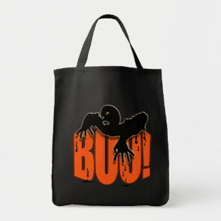 Le zombi éffrayant de Halloween huent le sac
