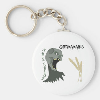 Le zombi végétarien veut Graaaains ! Porte-clés