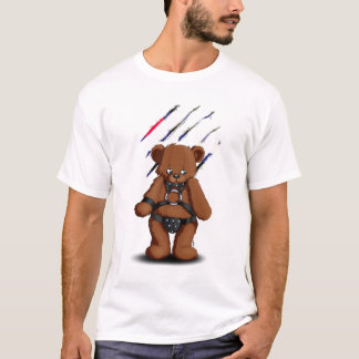 Leather Gay bear T Shirt