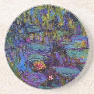 L'eau Lillies 1917 de Claude Monet Dessous De Verres
