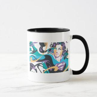 L'éclaboussure de couleur de Supergirl Mug