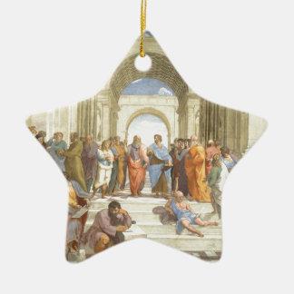 L'école d'Athènes Ornement Étoile En Céramique