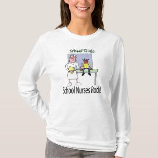 L'école soigne le T-shirt de roche