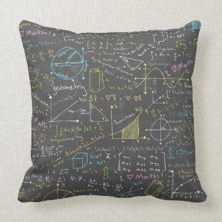 Leçons de maths oreillers