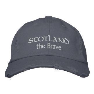 L'Ecosse le casquette courageux - montrez l'esprit Chapeau Brodé