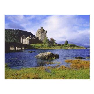 L'Ecosse, montagne, Wester Ross, Eilean Donan 2 Carte Postale