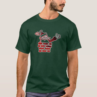 LED Père Noël T-shirt