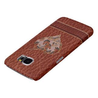 Leder-blik Zacht Valentijn Samsung Galaxy S6 Hoesje
