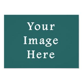 Lege Sjabloon van de Tendens van de Kleur van de 12,7x17,8 Uitnodiging Kaart