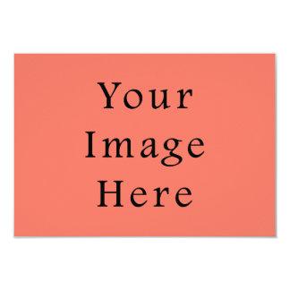 Lege Sjabloon van de Tendens van de Kleur van de 8,9x12,7 Uitnodiging Kaart
