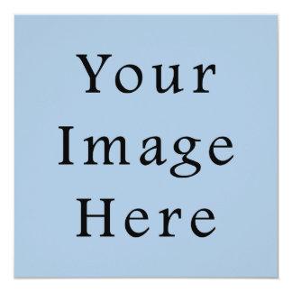 Lege Sjabloon van de Tendens van de Kleur van het 13,3x13,3 Vierkante Uitnodiging Kaart