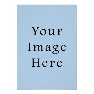 Lege Sjabloon van de Tendens van de Kleur van het 8,9x12,7 Uitnodiging Kaart