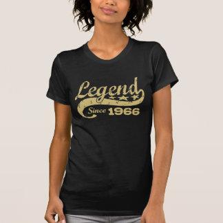 Légende depuis 1966 t-shirt