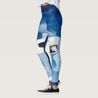 Leggings Amore bleu II