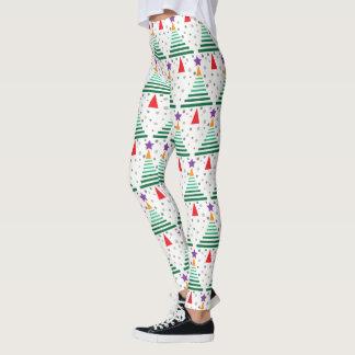 Leggings Arbre de Noël moderne