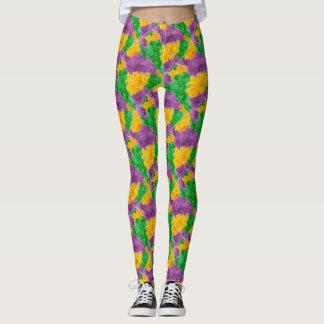 Leggings Camouflage de Pointillize d'aquarelle de mardi