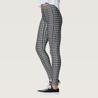 Leggings (checkered minuscule noir et blanc)