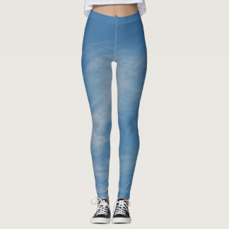 Leggings Ciel bleu
