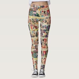Leggings Collage comique