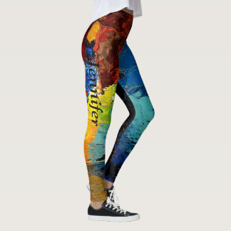 Leggings Colorez le pantalon fait sur commande de VOS