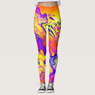 Leggings Colorful Abstract♥