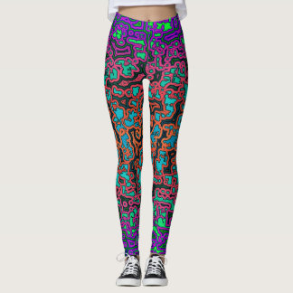 Leggings Colorful Labyrinth♥