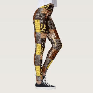 Leggings Conception africaine de motif