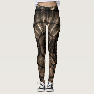 Leggings Constellations mécaniques de zodiaque de Steampunk