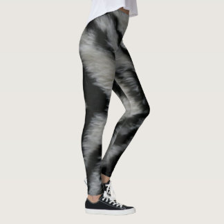 Leggings Copie de zèbre