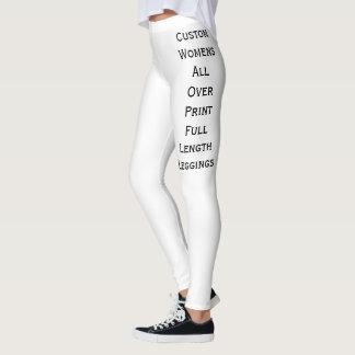 Leggings Créez le long pantalon de yoga des guêtres des