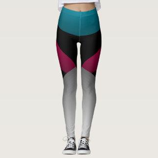 Leggings Danse de régime chic sportive de sports de couleur