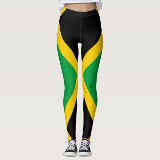 Leggings Drapeau jamaïcain complètement