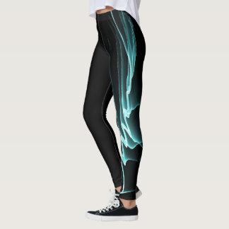 Leggings Filets de turquoise