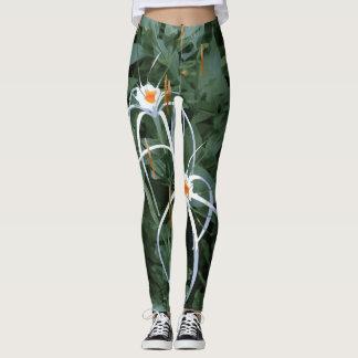 Leggings Forme physique jumelle de fleur