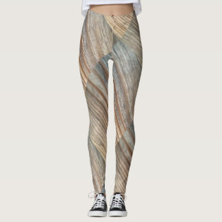Leggings Grain en bois