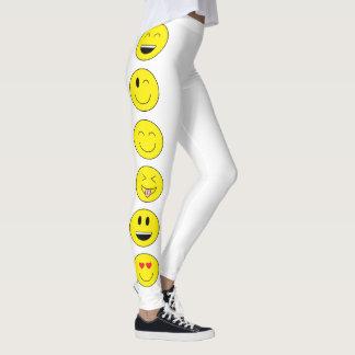 """Leggings Guêtres de """"Emojis"""""""