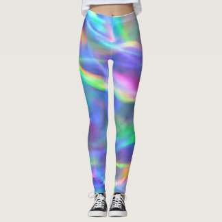 Leggings Guêtres iridescentes