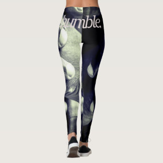 Leggings humble. Pleine copie de conception religieuse