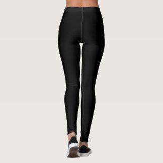Leggings Je suis pantalon végétalien de yoga
