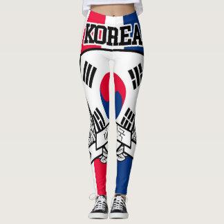 Leggings La Corée du Sud