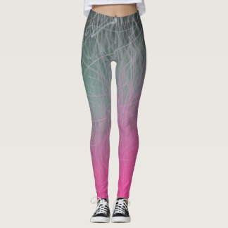 Leggings Le fond violet