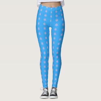 Leggings L'étoile barre bleu-clair