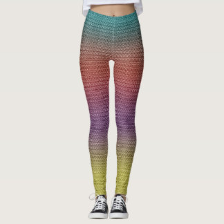 LEGGINGS LIENS DE COULEUR