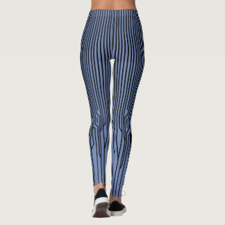 Leggings LIGNE MINCE de YOGA par Slipperywindow