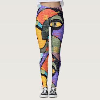 Leggings Monstres de graffiti