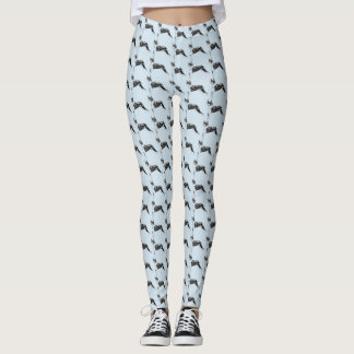 Leggings Motif de Boston Terrier